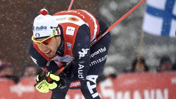 Итальянский лыжник Федерико Пеллегрино