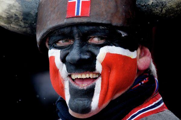Норвежский болельщик