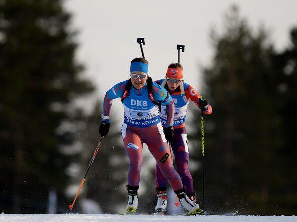 Екатерина Юрлова (Россия) (слева)