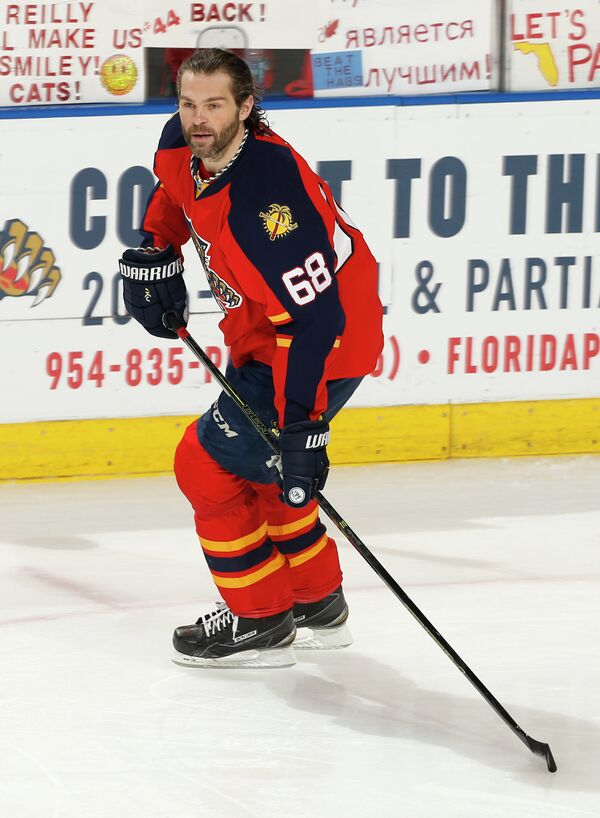 Форвард клуба НХЛ Флорида Пантерс Яромир Ягр