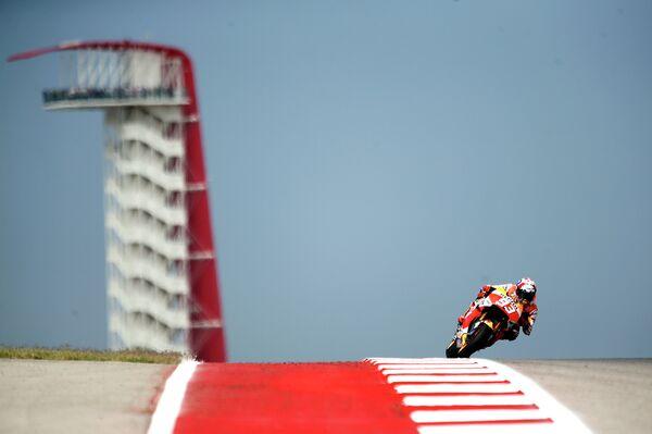 Испанский мотогонщик команды Хонда Марк Маркес