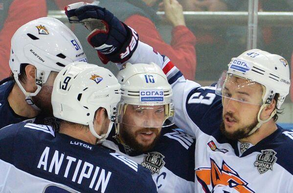 Хоккеисты Металлурга (Магнитогорск)
