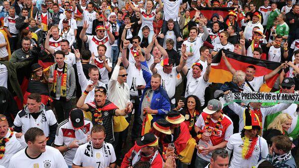 Болельщики сборной Германии по футболу