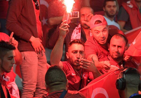 Болельщики сборной Турции