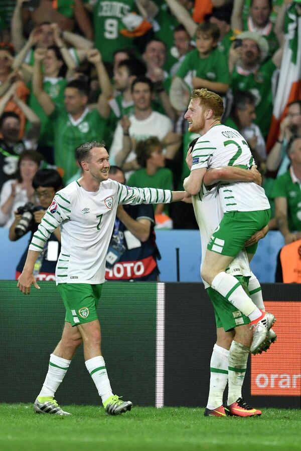 Игроки сборной Ирландии
