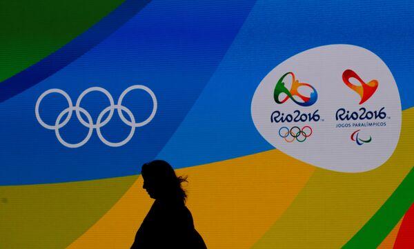 Логотип Олимпийских игр в Рио-де-Жанейро